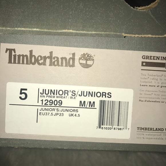 Timberland Støvler Størrelse 7 7QT270